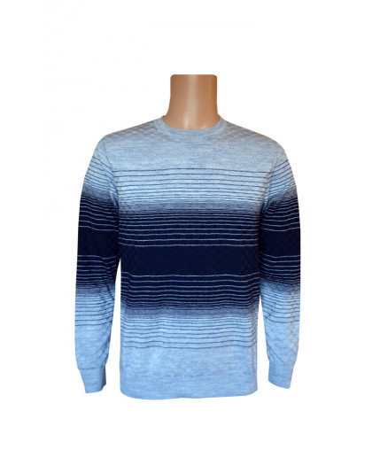 Джемпер серо-синего оттенка