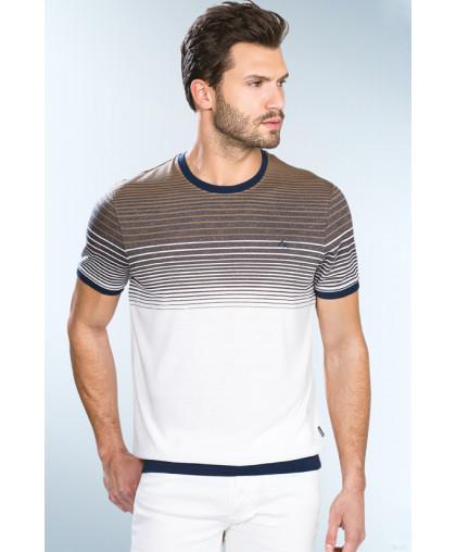 Caporicco футболка в полоску