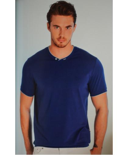 Синяя футболка Caporicco