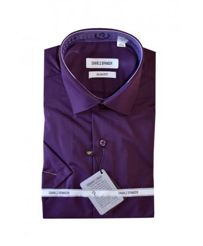 Фиолетовая мужская сорочка