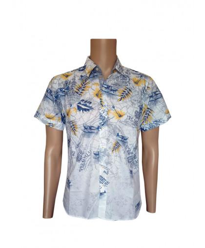 Рубашка в гавайскую расцветку