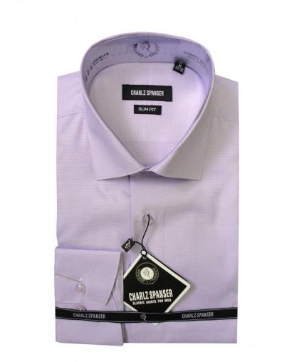 Сиреневая рубашка Charlz Spanser