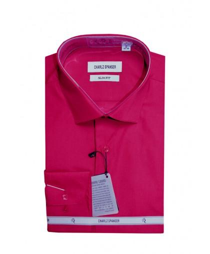 Мужская сорочка оттенка фуксия