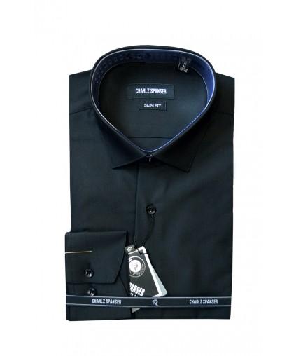 Черная мужская сорочка