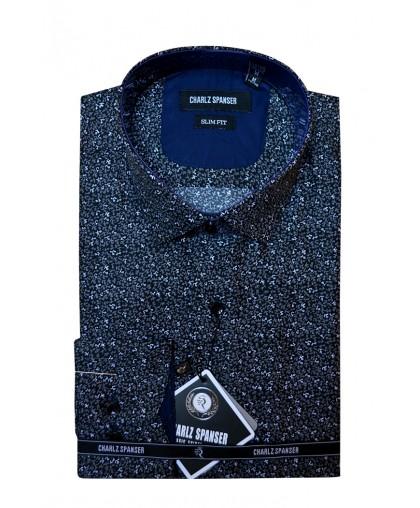 Рубашка с цветочным узором Charlz Spanser
